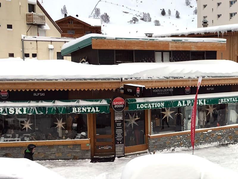 Ski hire shop ALP SKI, Les Deux Alpes in 108 avenue de la Muzelle