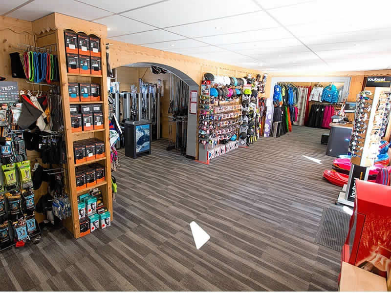 Verleihshop CUBY SPORT, 130 Avenue des Alpages in Les Houches