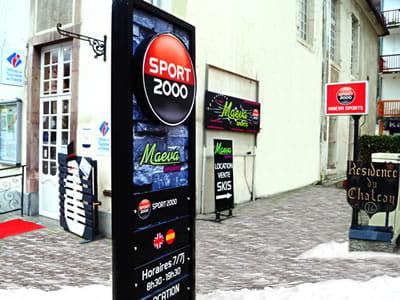 Verleihshop MAEVA SPORTS, Luchon-Superbagnères in 16 Allées d'Etigny