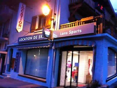 Ski hire shop LANS SPORT, Lanslebourg Val Cenis in 25 rue du Mont Cenis