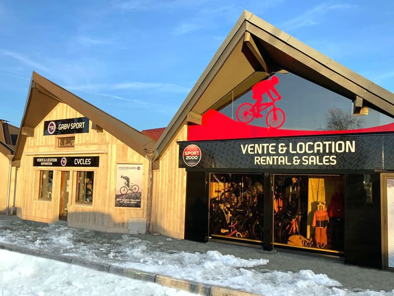 Verleihshop GABY SPORT, 35, Avenue Bois du Roi in Métabief