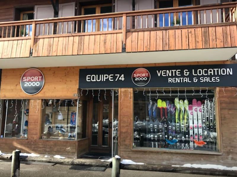 Verleihshop EQUIPE 74, 37, Chemin du Pré Foire [La Colombière] in La Clusaz
