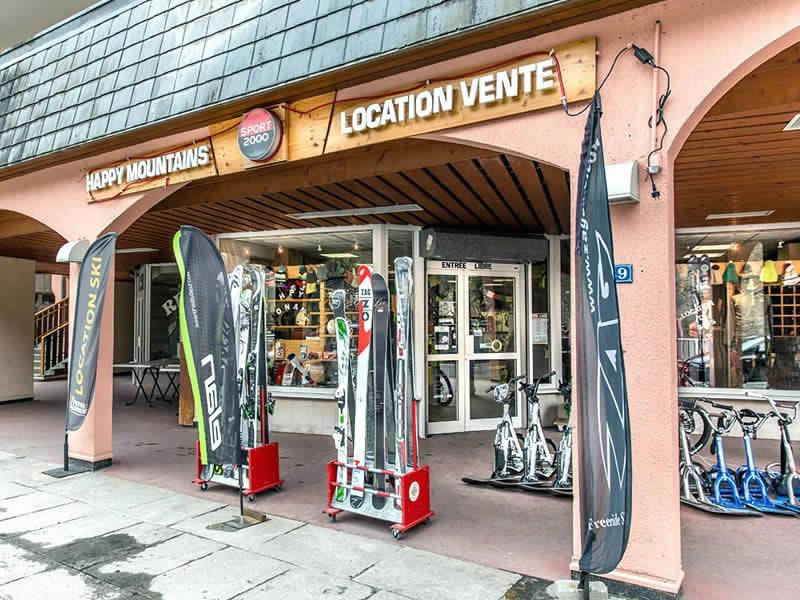 Verleihshop HAPPY MOUNTAINS, 39, Rue Aristide Briand in Brides les Bains