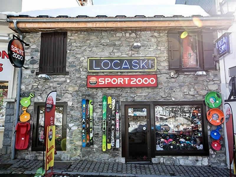 Verleihshop LOCASKI, 4 Rue Ramon in Bareges