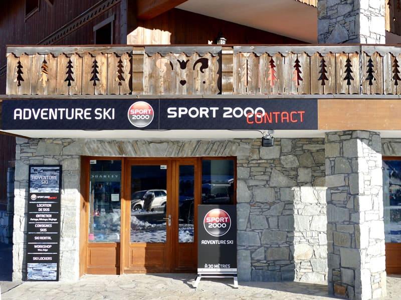 Verleihshop ADVENTURE SKI, 47, route du Val Renand - Bat. Pierre & Vacances in Les Carroz d'Araches