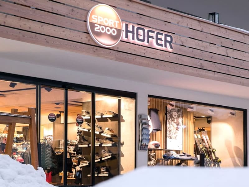 Verleihshop SPORT 2000 Hofer, Am Dorfplatz 13 in Neustift im Stubaital