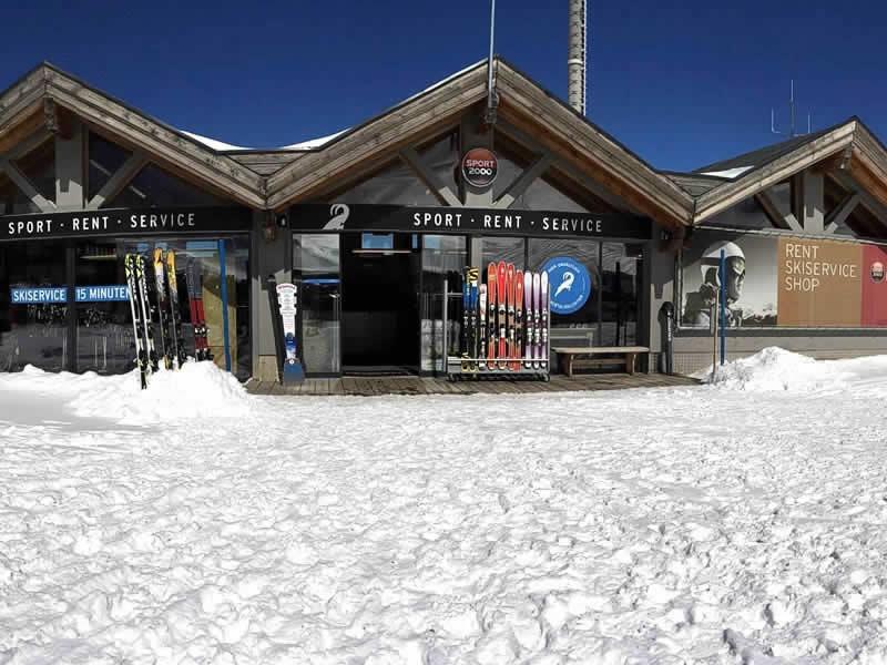 Verleihshop LARCHER Verleih- Test und Servicecenter, Am Kaunertaler Gletscherparkplatz in Feichten/Kaunertal