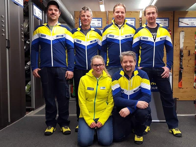 Verleihshop Sportservice Erwin Stricker, Am Platzl 1 - Maso Corto/Kurzras in Schnals