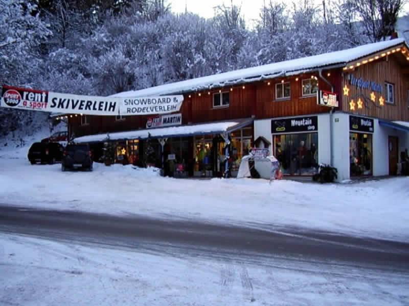 Verleihshop SPORT 2000 Martin, An der Riese 28 - Nähe Alpspitzbahn in Nesselwang