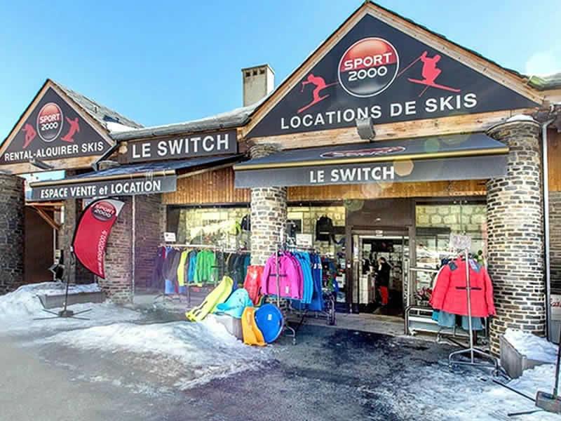 Verleihshop LE SWITCH, Avenue de Mont Louis in Les Angles