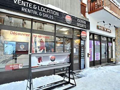 Verleihshop ISERAN SPORT, Val d Isere in B.P. 49 Les Hameaux