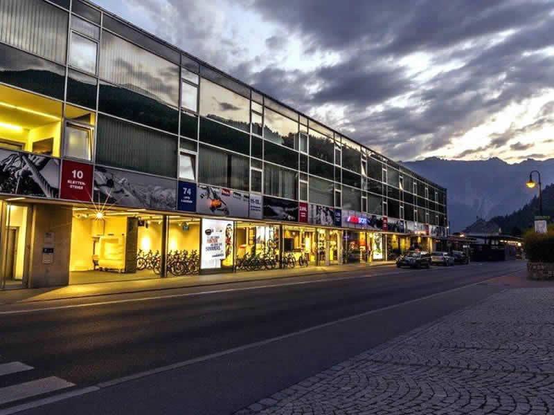 Verleihshop INTERSPORT - Silvretta Montafon, Schruns in Bahnhofstrasse 15
