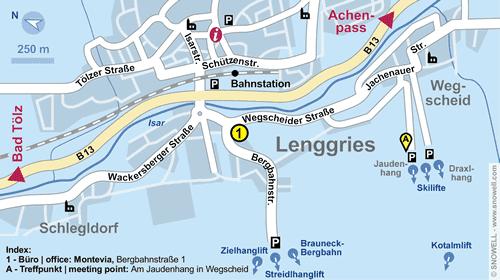 Lageplan Lenggries