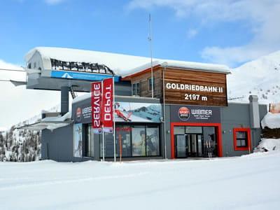 Verleihshop SPORT 2000 Wibmer, Matrei in Osttirol in Bergstation Goldriedbergbahnen