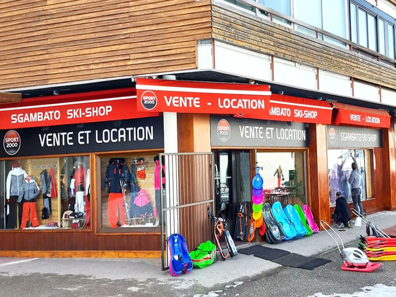 Verleihshop SGAMBATO SKI SHOP, Centre Commercial la Roche Béranger in Chamrousse