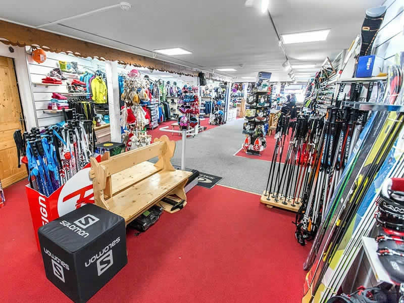 Verleihshop PIERRE LEROUX SPORTS, Centre Commercial in La Plagne - Villages