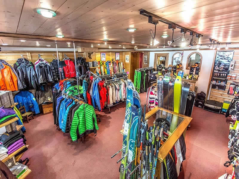 Verleihshop ARDENT SPORTS, Centre Station in Montriond