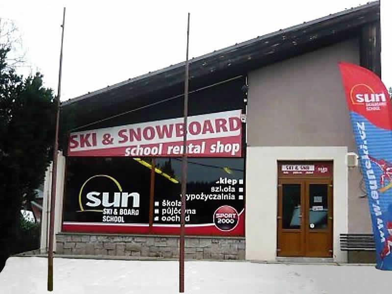 Verleihshop Sun Ski, Cerný Dul 102 in Cerny Dul