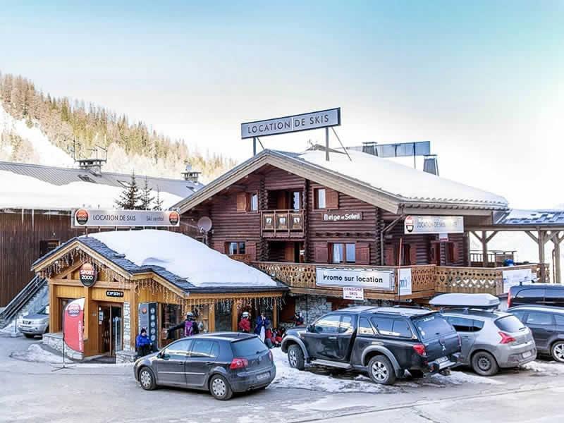 Ski hire shop PLAGNE 1800 SPORTS, La Plagne 1800 in Départ des pistes