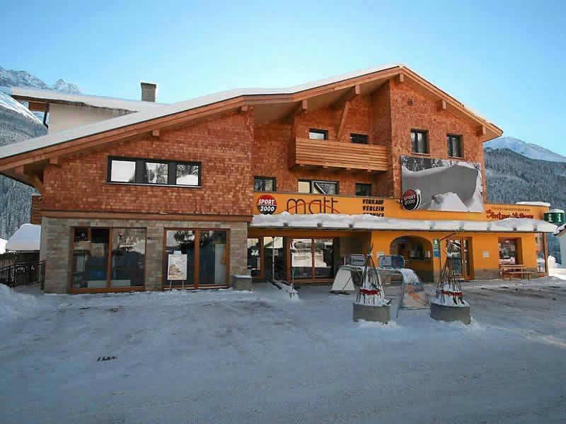 Verleihshop SPORT 2000 Matt, Dorf 150 in Pettneu