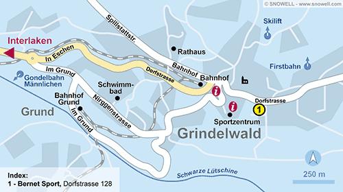 Lageplan Grindelwald