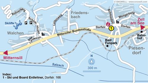 Lageplan Piesendorf