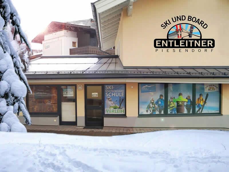 Verleihshop Ski und Board Entleitner, Dorfstrasse 166 in Piesendorf