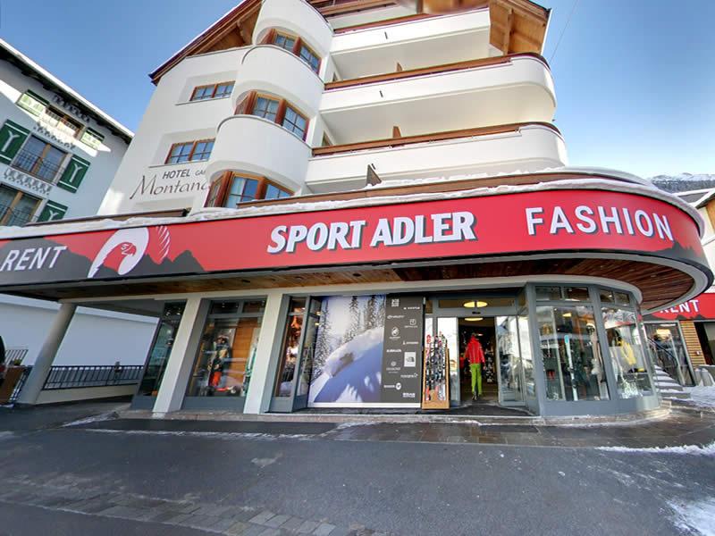 Verleihshop Sport Adler, Dorfstrasse 75 in Ischgl