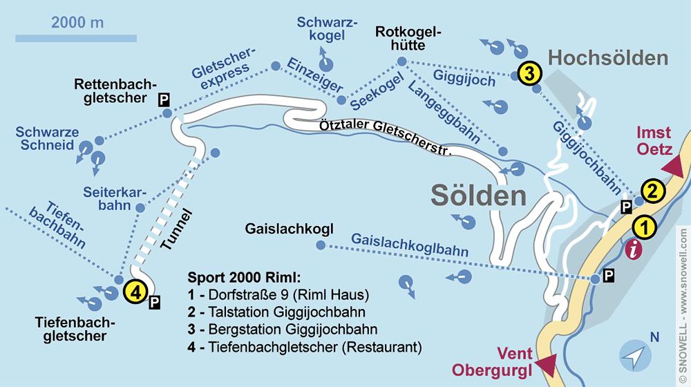 Verleihshop Check In, Sölden in Giggijochbahn Talstation [Giggijochstrasse 16]