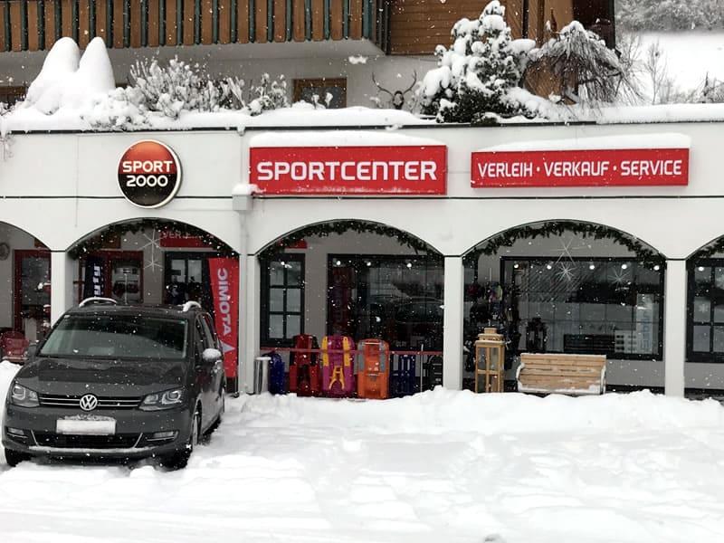Verleihshop SPORT 2000 Sportcenter, Dorfstrasse 91 in Bad Kleinkirchheim