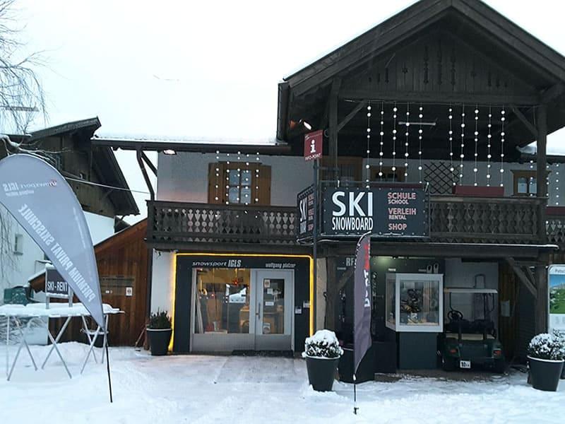 Verleihshop Snowsport Igls, Eichlerstrasse 16 in Innsbruck - Igls