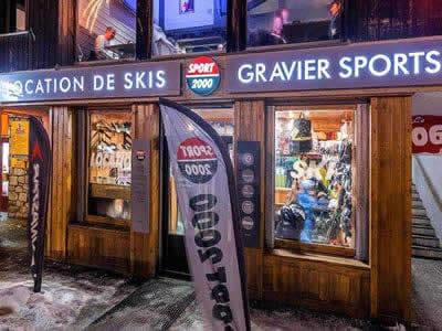 Verleihshop GRAVIER SPORT, La Foux d'Allos in Etoile des neiges