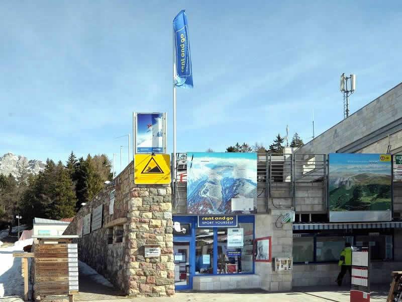 Verleihshop Sportservice Erwin Stricker, Falzeben/Avelengo in Hafling