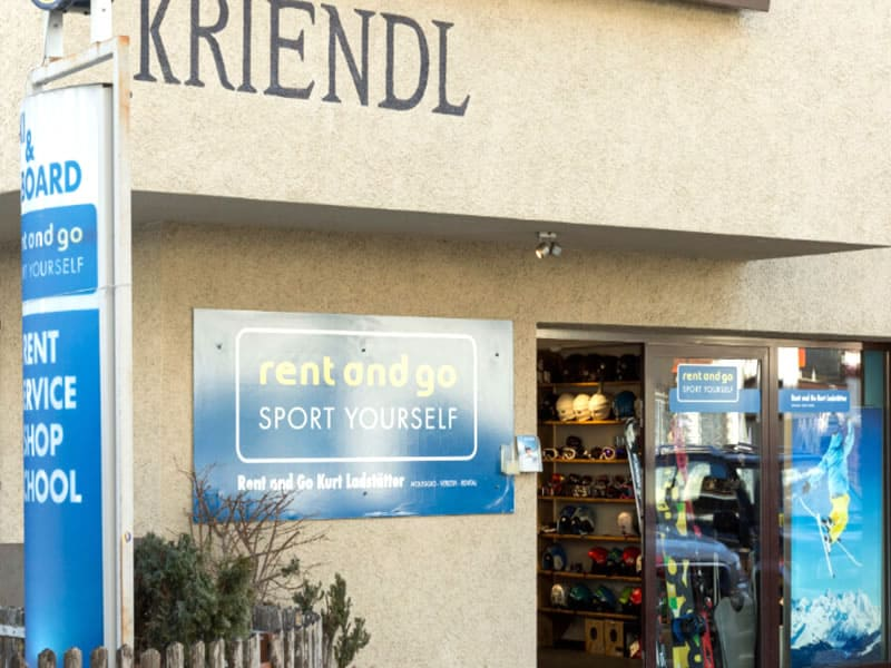 Verleihshop Rent and go, Florianiplatz 15/B in Olang