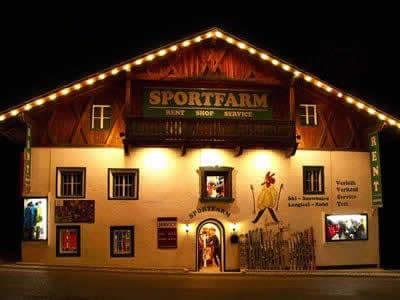 Verleihshop Sportfarm, Neustift im Stubaital in Franz-Senn-Strasse 87 [Ortsteil Milders]