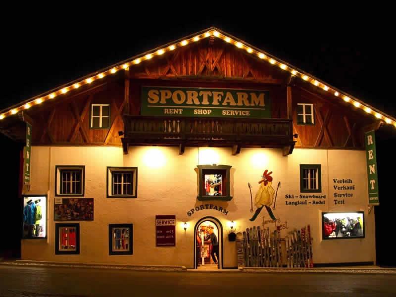 Verleihshop Sportfarm, Franz-Senn-Strasse 87 [Ortsteil Milders] in Neustift im Stubaital