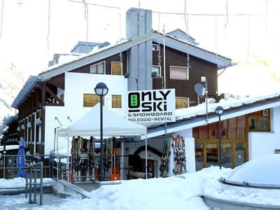 Verleihshop Only Ski & Snowboard, La Thuile in Fraz. Entreves 122