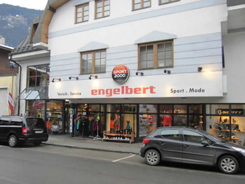 Verleihshop SPORT 2000 Engelbert, Gerlosstraße 3 in Zell am Ziller