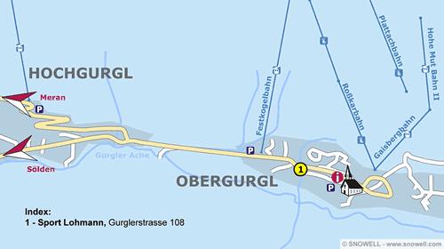 Lageplan Obergurgl