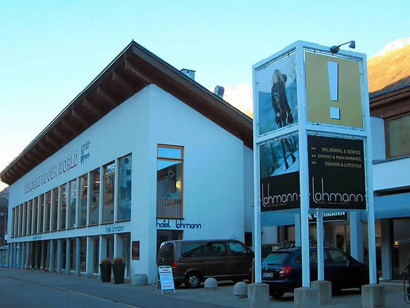 Verleihshop Sport Lohmann - NOT SNOWBORED, Gurglerstrasse 108 in Obergurgl