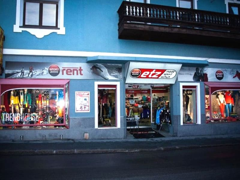 Verleihshop SPORT 2000 Etz, Hauptstraße 2 in Kirchberg i. Tirol