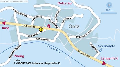 Lageplan Oetz