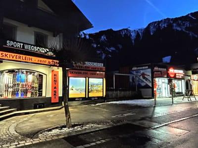 Verleihshop SPORT 2000 Wegscheider, Mayrhofen in Hauptstrasse 471a