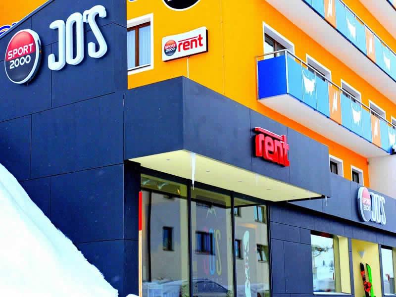 Verleihshop SPORT 2000 Seppl, HNr. 35, Hotel Moritz in Kühtai