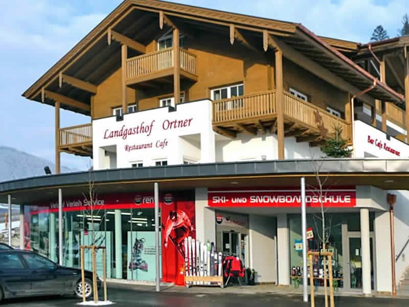 Verleihshop Sport Klieber, HNr. 387 [Talstation Reitlehen Bergbahnen] in Eben im Pongau