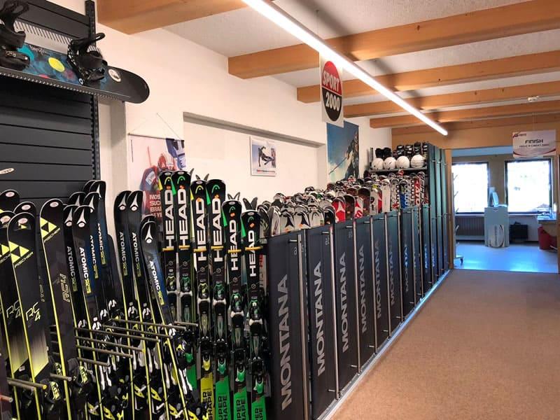 Verleihshop SPORT 2000 Sportcenter Knitel, HNr. 54 in Warth