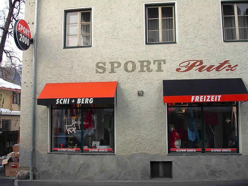 Verleihshop SPORT 2000 Putz, HNr. 60 in Kötschach-Mauthen
