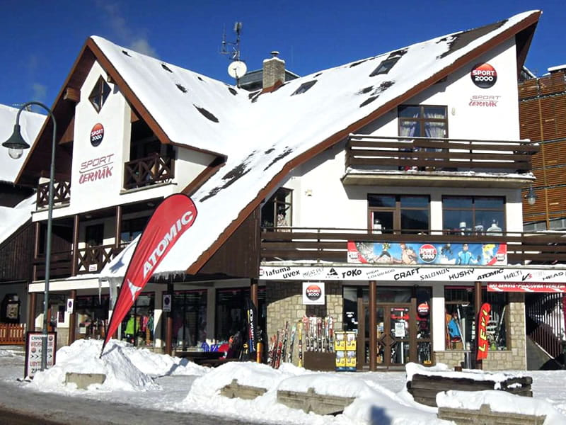 Verleihshop Sport Cermak, HNr. 622 in Harrachov
