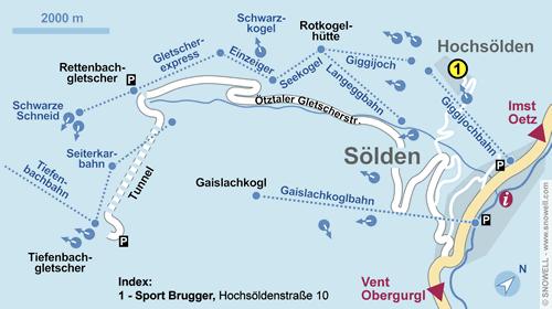 Lageplan Hochsölden