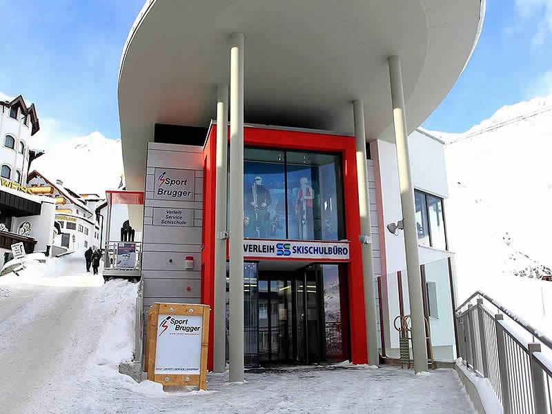 Verleihshop Sport Brugger, Hochsöldenstrasse 10 in Hochsölden